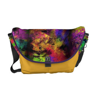 Painter's pallett messenger bags