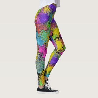 Painters Pants Pop Fashion Leggings