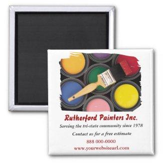 Painters Promotional Magnet magnet