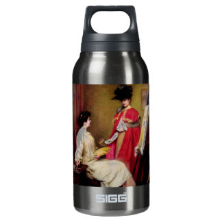Painters Studio Two Women painting Insulated Water Bottle