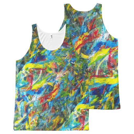 Painter's Tank Top All-Over Print Tank Top