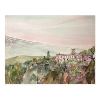 Painti Sicilia Italia con Mpunt el Etna Postales