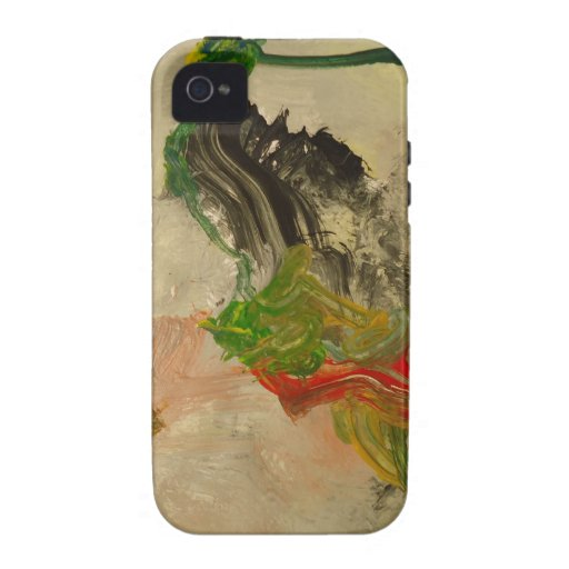 Paintig abstracto 3 Case-Mate iPhone 4 fundas