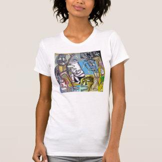 Painting #4 Rodin In Vegas T-Shirt
