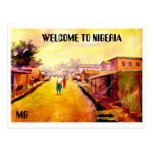 PAINTING 5 copy, WELCOME TO NIGERIA , MG Post Cards