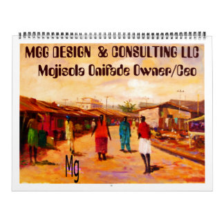 PAINTING 9 copy, MGG DESIGN  & CONSULTING LLC  ... Calendar