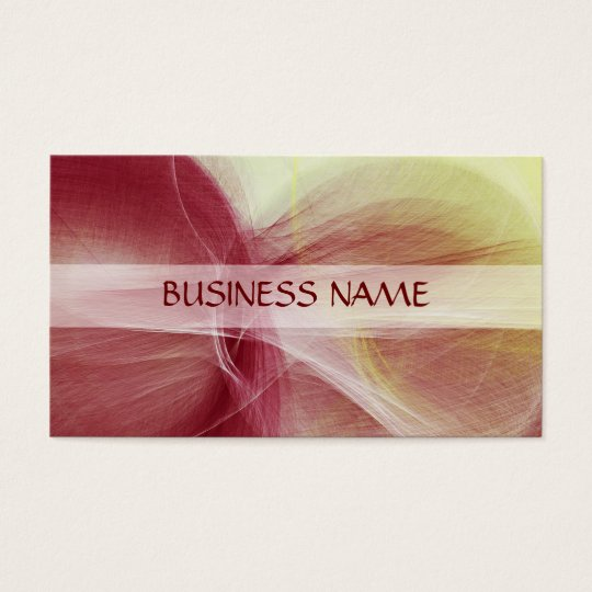 Painting Abstract Art 11 Business Card