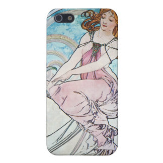 Painting, Alphonse Mucha Cover For iPhone SE/5/5s