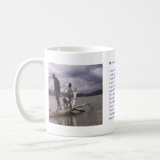 """Painting and poem by Dale Candee """"My little girl"""" Coffee Mug"""