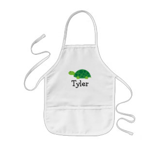 Painting apron for kids with customizable name