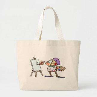 Painting Artist Tote Bag