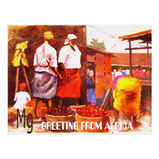 PAINTING Bb copy, GREETING FROM AFRICA Postcards