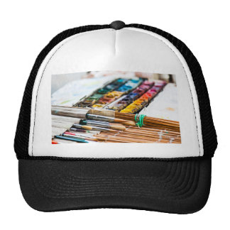 Painting Brushes Trucker Hat