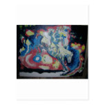 Painting by7 David Hart titled Life- donation Post Cards
