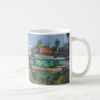 Painting by Jeff Hom Classic White Coffee Mug