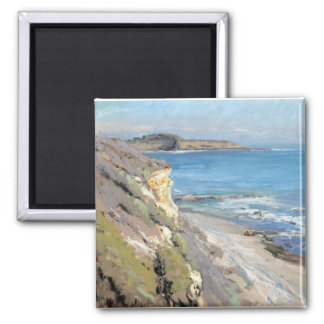 Painting by Jeff Horn 2 Inch Square Magnet