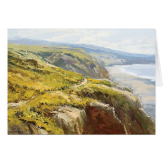 Painting by Jeff Horn Greeting Card