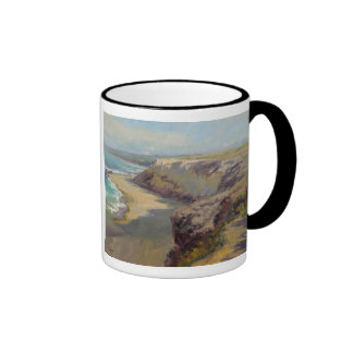 Painting by Jeff Horn Ringer Coffee Mug