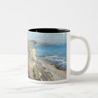 Painting by Jeff Horn Two-Tone Coffee Mug