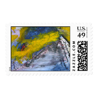 Painting by Kate Ricklin - YB1 Stamp