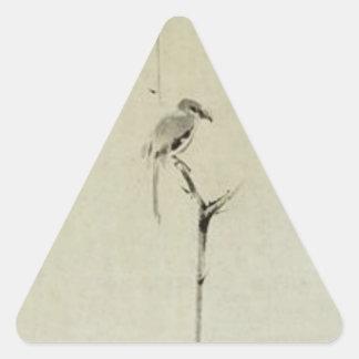 Painting by Miyamoto Musashi c 1600 s Stickers