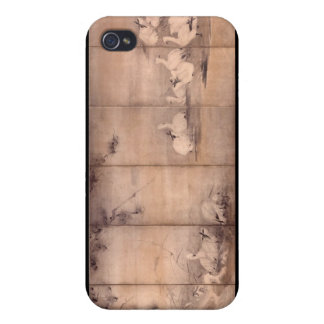 Painting by Miyamoto Musashi, c. 1600's iPhone 4/4S Cases