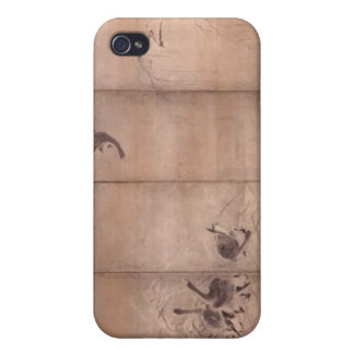 Painting by Miyamoto Musashi, c. 1600's iPhone 4/4S Cover
