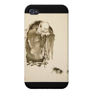 Painting by Miyamoto Musashi, c. 1600's Covers For iPhone 4