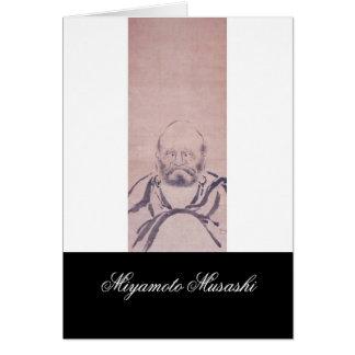 Painting by Miyamoto Musashi circa 1600's Greeting Cards