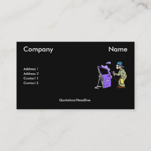 car painting business cards zazzle