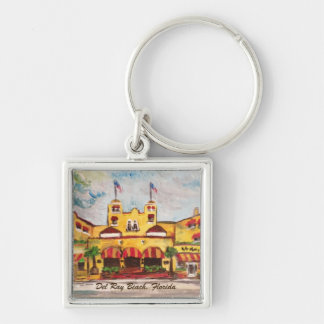 Painting Colony Hotel, Del Ray Beach Fl., Keychain