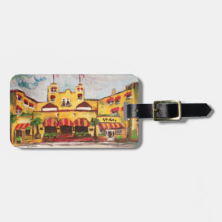 Painting Colony Hotel, Del Ray Beach Luggage Tag