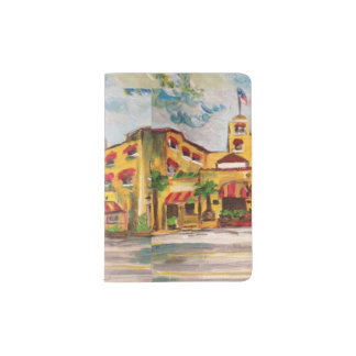 Painting: Colony Hotel, Del Ray Passport Holder