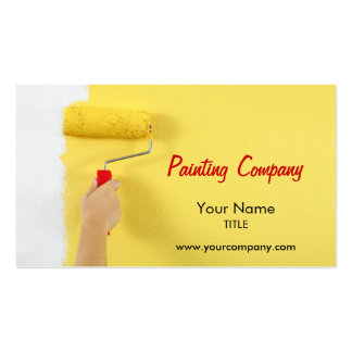 painting company / painter / interior designer Double-Sided standard business cards (Pack of 100)