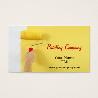 Painting Company Business Cards & Templates | Zazzle