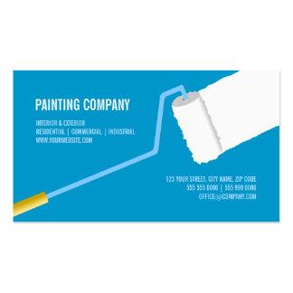 Painting Company tarjeta de visita del contratista