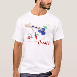 Painting - Create! T-Shirt