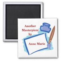 Painting Custom Magnet MM06N magnet