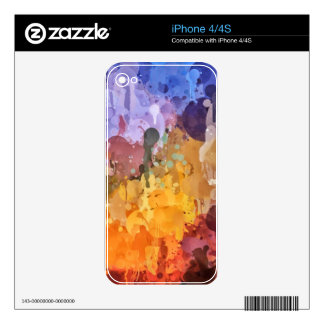 Painting Decals For The iPhone 4S