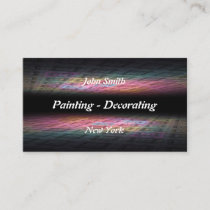 Painting - Decorating business card. Business Card