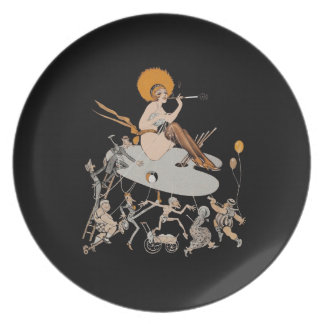 Painting Democracy ~ Decorative Plate Non-Toxic