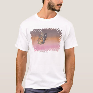 Painting depicting butterfly in flight T-Shirt