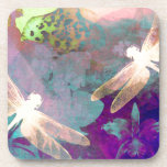 Painting Dragonflies Coaster