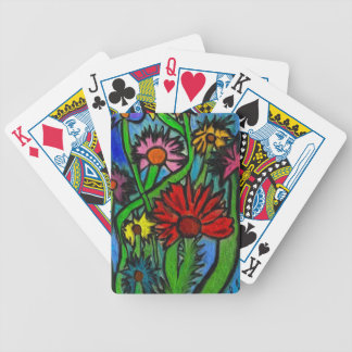 Painting Flowers Through Autistic Eyes Bicycle Playing Cards