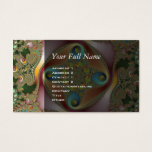 Painting - Fractal Art Business Card