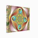 Painting - Fractal Art Canvas Print