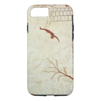 Painting from the Tomb of the Diver from the south iPhone 7 Case