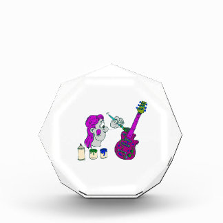 painting guitar abstract colorful purple.png award