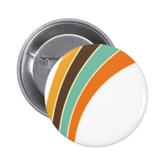Painting in retro colors pin