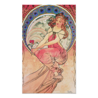 Painting Lithograph by Alphonse Mucha Posters